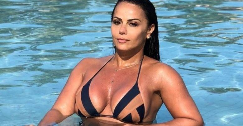 Viviane Araujo y sus curvas espectaculares.